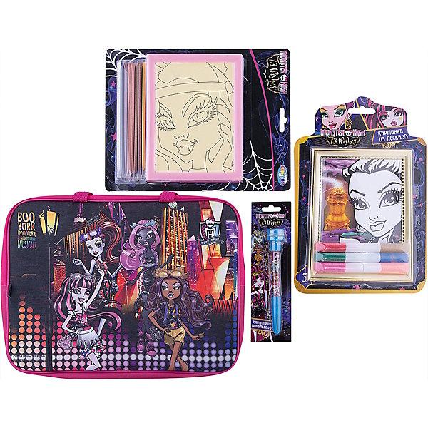 CENTRUM Набор для творчества Мonster High (4 предмета) набор для творчества с портфолио fashion angels уроки макияжа в школе монстров