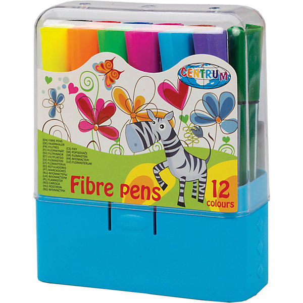 Короткие фломастеры, 12 цветовФломастеры<br>Короткие фломастеры, 12 цветов<br><br>Характеристики:<br><br>- в набор входит: 12 фломастеров<br>- состав: пластик, краска<br>- размер упаковки: 9,5 * 3,7 * 12 см.<br>- вес: 150 г.<br>- для детей в возрасте: от 3 до 6 лет<br>- страна производитель: Китай<br><br>Набор крупных ярких фломастеров на водной основе от немецкого бренда Centrum (Центрум) придет по вкусу начинающим художникам. Рисунки на упаковке вдохновляют на новые шедевры. Рисунок фломастерами ложится на бумагу, картон, дерево. Яркие и насыщенные линии сделают рисунок неповторимым. Кроме рисования, фломастеры отлично подойдут для графического оформления. Пластиковый корпус фломастеров с вентилируемым колпачком удобно ложится в руку, а после работы все фломастеры убираются в пластиковую коробочку. Набор включает классические двенадцать цветов, открывая просторы для творчества. Рисуя фломастерами дети развивают творческие способности, аккуратность, моторику рук, усидчивость, восприятие цвета и выражают свой внутренний мир в рисунках. <br><br>Короткие фломастеры, 12 цветов можно купить в нашем интернет-магазине.<br>Ширина мм: 37; Глубина мм: 95; Высота мм: 118; Вес г: 150; Возраст от месяцев: 36; Возраст до месяцев: 120; Пол: Унисекс; Возраст: Детский; SKU: 5175479;
