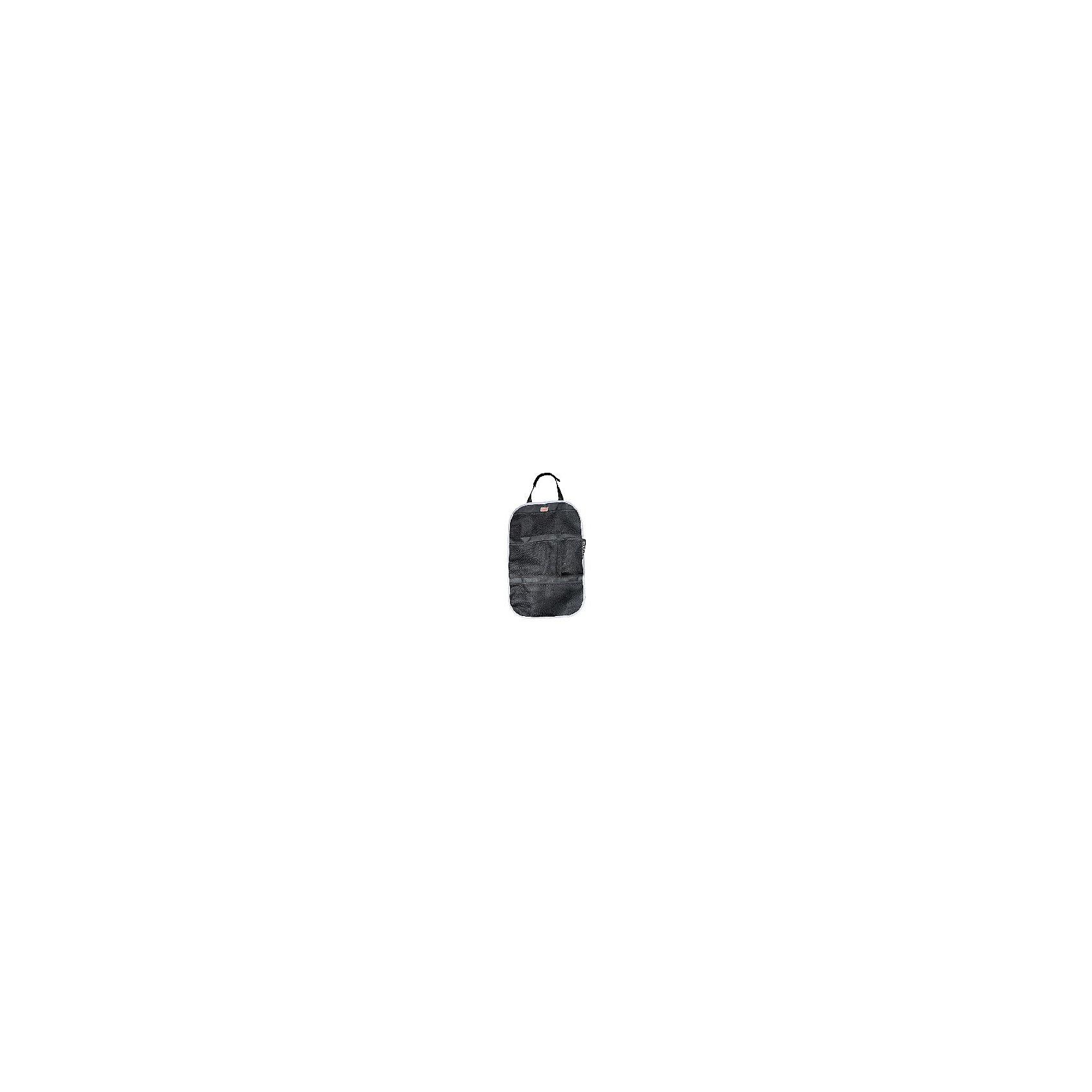 Органайзер на спинку сиденья ORG-3 с сетчатыми карманами, Siger
