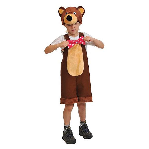 Фотография товара костюм Медведь цирковой, рост 100-125, Карнавалофф (5177204)
