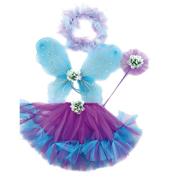 Купить Карнавальный костюм Новогодняя сказка Фея , фиолетовый, Китай, Женский