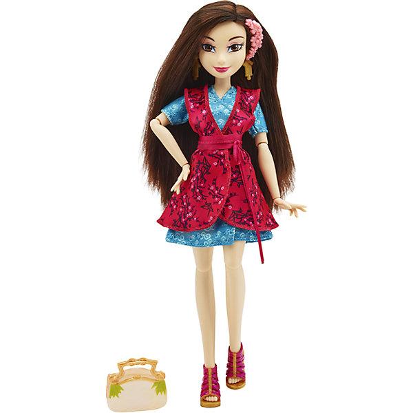 hasbro кукла одри светлые герои в платьях для коронации наследники disney Hasbro Кукла Disney Descendants Светлые герои Лонни в оригинальном костюме, 29 см