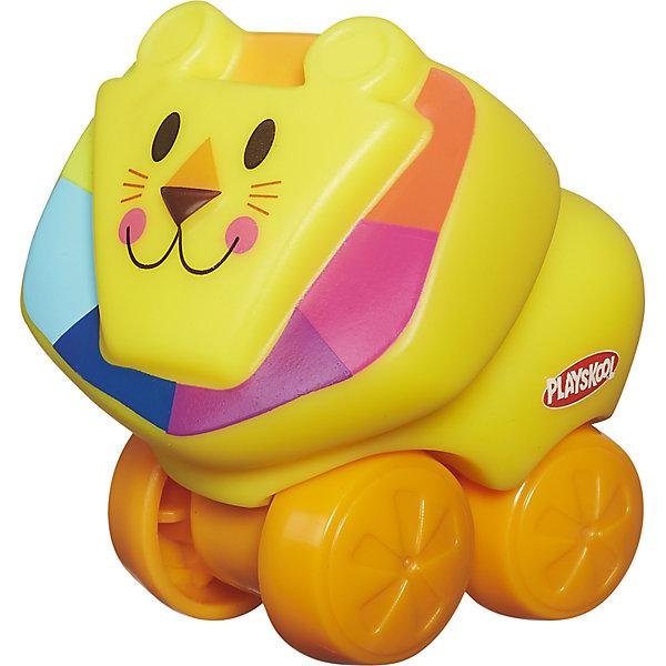 Hasbro Веселые мини-животные Возьми с собой: Лев, PLAYSKOOL hasbro игрушка каталка playskool возьми с собой мини щенок