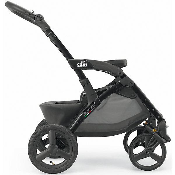 Шасси для коляски модели Dinamico Up, Cam, черныйКоляски 3 в 1<br>Характеристики:<br><br>• Наименование: шасси для коляски<br>• Сезон: круглый год<br>• Пол: универсальный<br>• Материал: металл, пластик<br>• Цвет: черный<br>• Тип колес: резиновые, надувные<br>• Переднее колесо поворотное<br>• Механизм складывания: книжка<br>• Ширина шасси: 58 см<br>• Амортизация: пружинный механизм<br>• Вес: 8 кг <br><br>Шасси для коляски модели Dinamico Up, Cam, черный – усовершенствованные шасси для колясок модельного ряда Dinamico Up, Cam, которые сочетают в себе, облегченную раму, маневренность и плавность хода. Шасси имеет компактный размер и удобный механизм складывания, что обеспечивает легкость транспортировки коляски на дальние расстояния. Съемные блоки для шасси оснащены брендовым механизмом смены и закрепления. Шасси для коляски выполнены в спортивном стиле классического черного цвета.<br><br>Шасси для коляски модели Dinamico Up, Cam, черный можно купить в нашем интернет-магазине.<br>Ширина мм: 910; Глубина мм: 500; Высота мм: 680; Вес г: 9000; Возраст от месяцев: 0; Возраст до месяцев: 36; Пол: Унисекс; Возраст: Детский; SKU: 5179800;