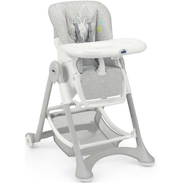 CAM Стульчик для кормления Campione, Зайка, Cam, серый стульчик для кормления cam cam стульчик для кормления campione elegant коричневый белый