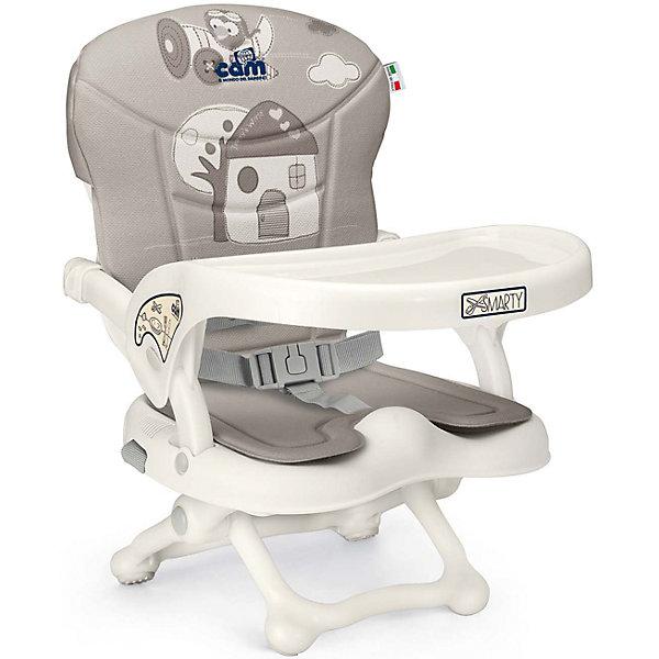 CAM Стульчик для кормления Smarty Pop, Домик, Cam, тёмно-серый стульчик для кормления geuther family серый