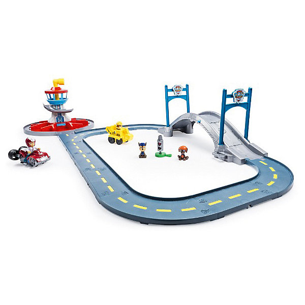 Spin Master PAW PATROL Launch N Roll Lookout Tower Track Set spin master nickelodeon paw patrol машина спасателей со звуком и светом 16721 трицикл чейса