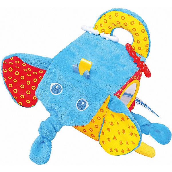 Кубик Слон, МякишиРазвивающие игрушки<br>Характеристики товара:<br><br>• материал: разнофактурный текстиль, поролон<br>• комплектация: 1 шт<br>• размер игрушки: 5х20х10 см<br>• звуковой элемент<br>• подвес<br>• прорезыватель<br>• развивающая игрушка<br>• упаковка: картон<br>• страна бренда: РФ<br>• страна изготовитель: РФ<br><br>Малыши активно познают мир и тянутся к новой информации. Чтобы сделать процесс изучения окружающего пространства интереснее, ребенку можно подарить развивающие игрушки. В процессе игры информация усваивается намного лучше!<br>Такие игрушки помогут занять малыша, играть ими приятно и весело. Одновременно они позволят познакомиться со многими цветами, фактурами, а также научиться извлекать звук. Подобные игрушки развивают тактильные ощущения, моторику, цветовосприятие, логику, воображение, учат фокусировать внимание. Каждое изделие абсолютно безопасно – оно создано из качественной ткани с мягким наполнителем. Игрушки производятся из качественных и проверенных материалов, которые безопасны для детей.<br><br>Кубик Слон от бренда Мякиши можно купить в нашем интернет-магазине.<br>Ширина мм: 155; Глубина мм: 200; Высота мм: 100; Вес г: 90; Возраст от месяцев: 12; Возраст до месяцев: 36; Пол: Унисекс; Возраст: Детский; SKU: 5183212;