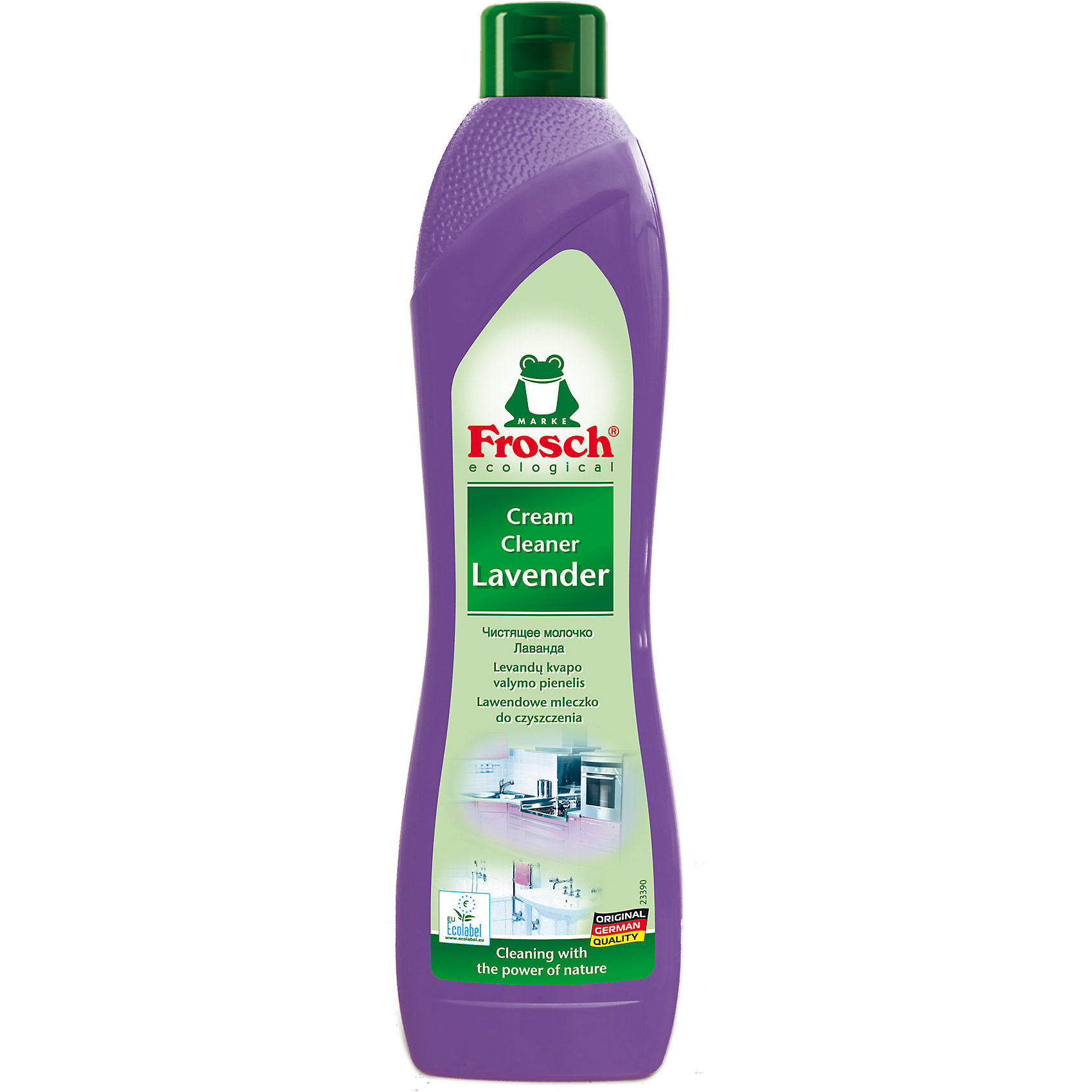 Чистящее молочко лаванда, 0,5 л., Frosch (-)