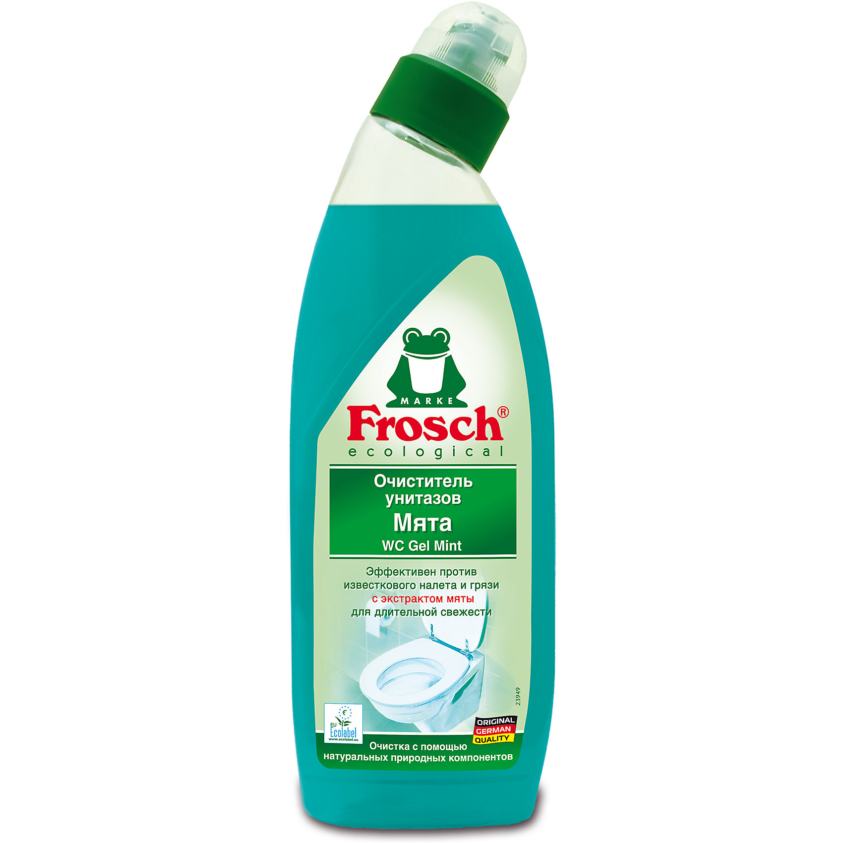 Очиститель унитазов Мята, 0,75 л., Frosch (-)