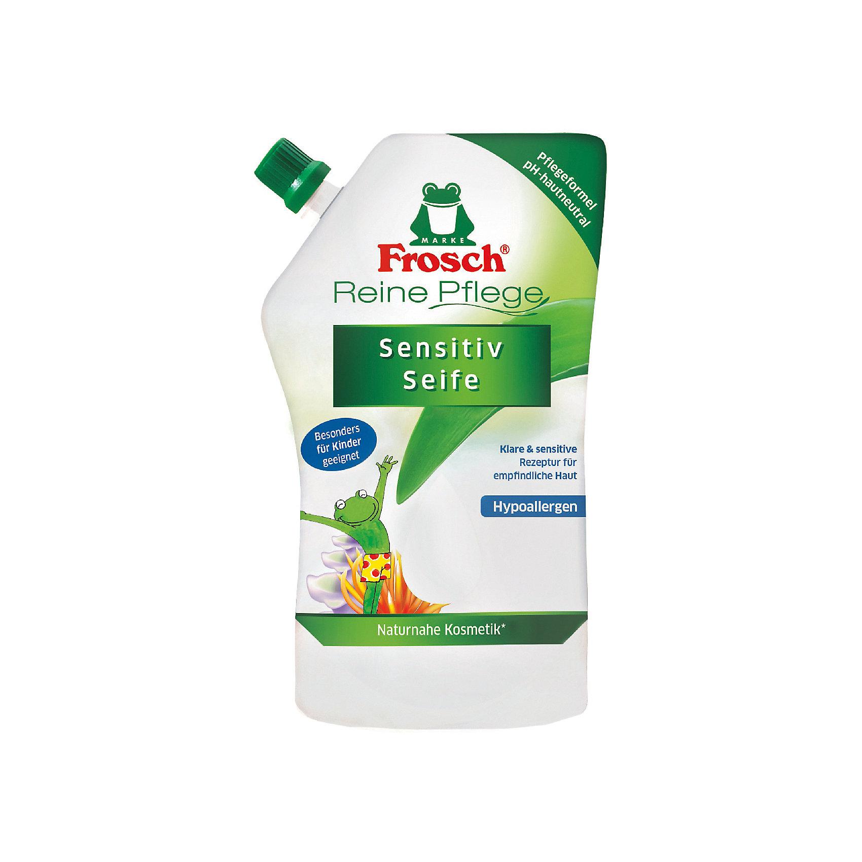 Детское ухаживающее жидкое мыло для рук (запасная упаковка), 500 мл, Frosch (-)
