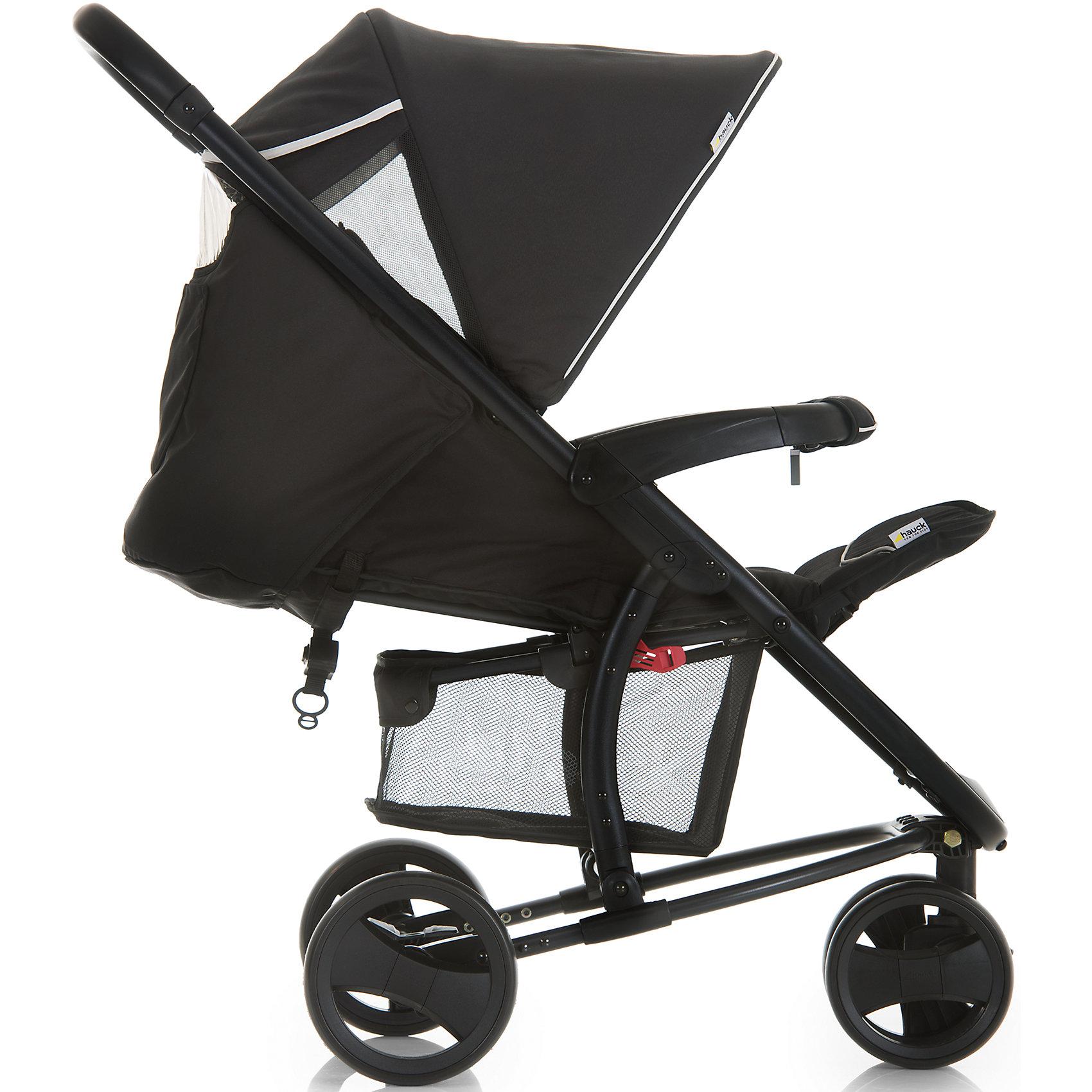 Прогулочная коляска Hauck Miami 3S SLX, caviar/silver