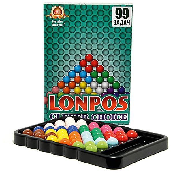 Lonpos Головоломка Clever Choise 99 задач, Lonpos развивающие книжки clever веселые головоломки для девочек