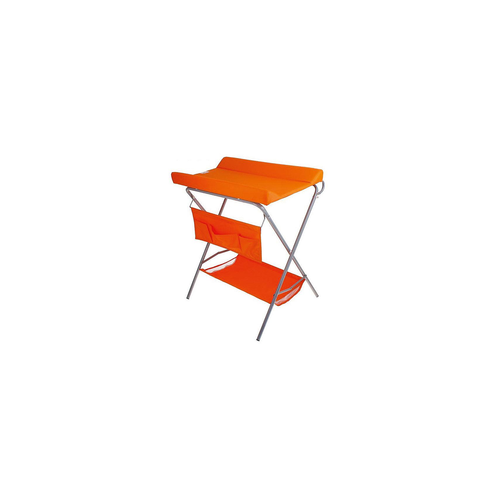 Пеленальный столик, Фея, оранжевый (ФЕЯ)