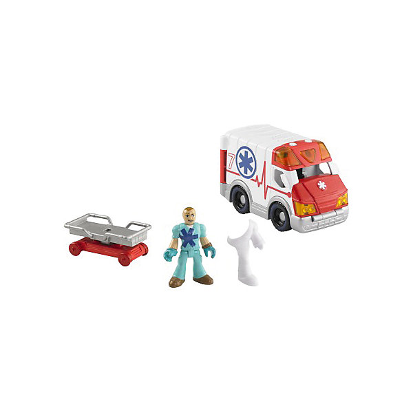 "Mattel Набор ""Городские спасатели"" с аксессуарами, Imaginext, Fisher Price"