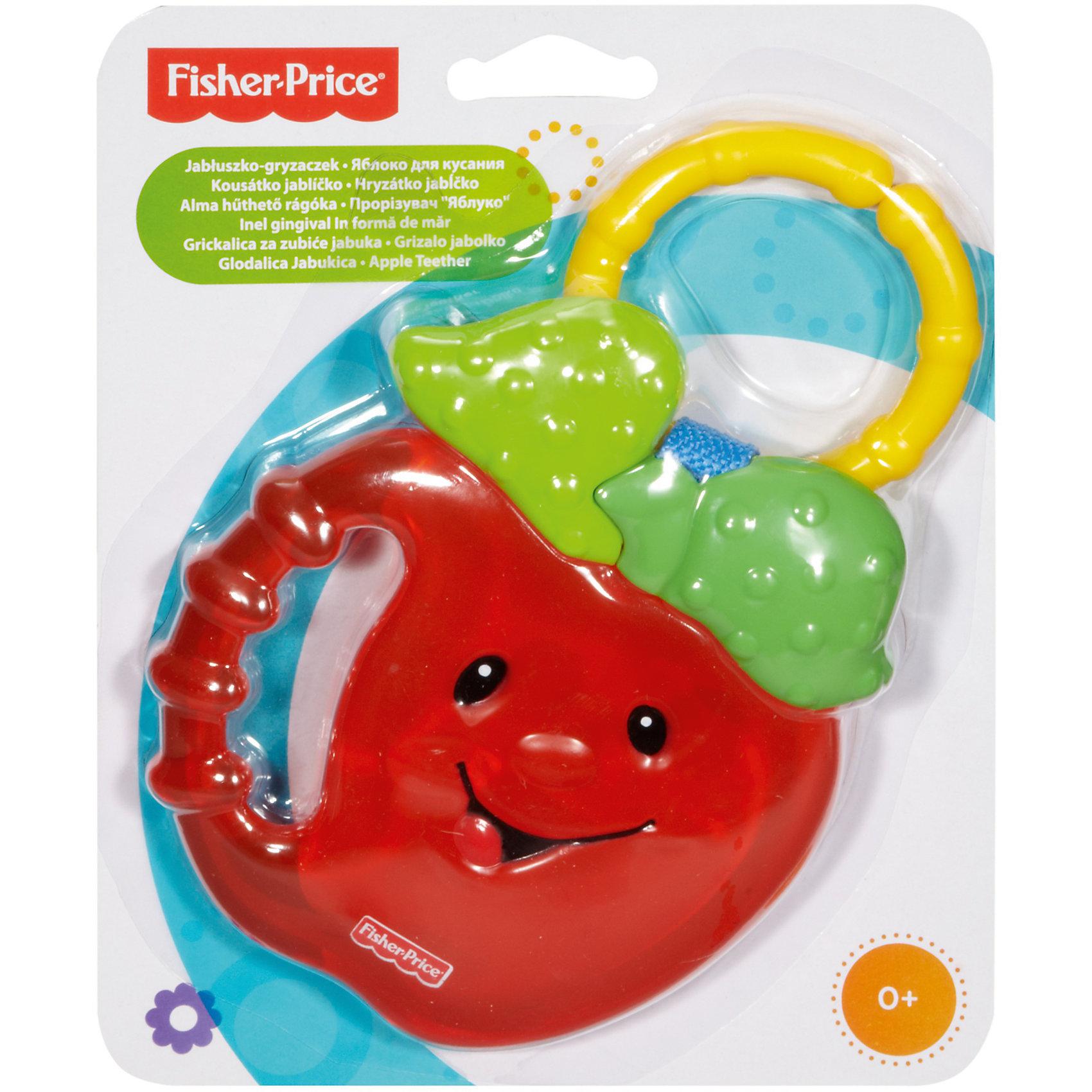 Прорезыватель Яблочко, Fisher Price (Mattel)