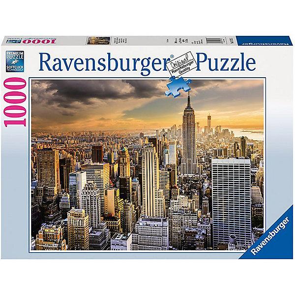 Купить Пазл Ravensburger Большой Нью-Йорк, 1000 элементов, Германия, Унисекс