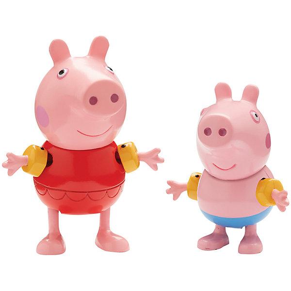 Росмэн Игровой набор Пеппа на каникулах, Peppa Pig свинка пеппа пакет подарочный пеппа на каникулах