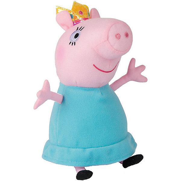 Мягкая игрушка Мама-Свинка королева, 30 см, Peppa PigМягкие игрушки из мультфильмов<br>Мягкая игрушка Мама-Свинка королева, 30 см, Peppa Pig (Свинка Пеппа). <br><br>Характеристика:<br><br>• Материал: пластик, текстиль, плюш.   <br>• Размер игрушки: 30 см.<br>• Игрушка мягкая, очень приятная на ощупь. <br><br>Игрушка в виде любимого персонажа мультсериала Peppa Pig, приведет в восторг любого ребенка! Мама-Свинка в образе королевы неотразима и восхитительна! Игрушка сшита из мягкого приятного на ощупь плюща. С ней очень весело играть днем и приятно засыпать вечером.<br>Собери всю коллекцию плюшевых игрушек Peppa Pig проигрывай сцены из любимых мультфильмов или придумывай свои забавные и интересные истории!  <br><br>Мягкую игрушку Мама-Свинка королева, 30 см, Peppa Pig (Свинка Пеппа), можно купить в нашем интернет-магазине.<br>Ширина мм: 230; Глубина мм: 135; Высота мм: 120; Вес г: 141; Возраст от месяцев: 36; Возраст до месяцев: 2147483647; Пол: Унисекс; Возраст: Детский; SKU: 5211684;
