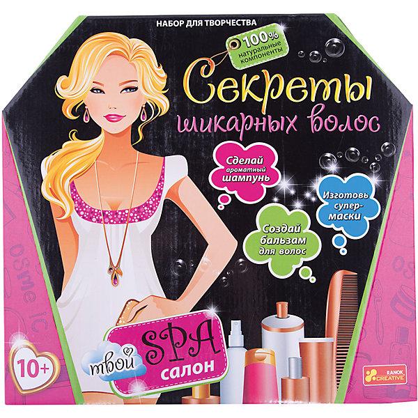 Ранок Наборы для девочек, Секреты шикарных волос наборы аксессуаров для волос esli комплект аксессуаров для волос light yellow