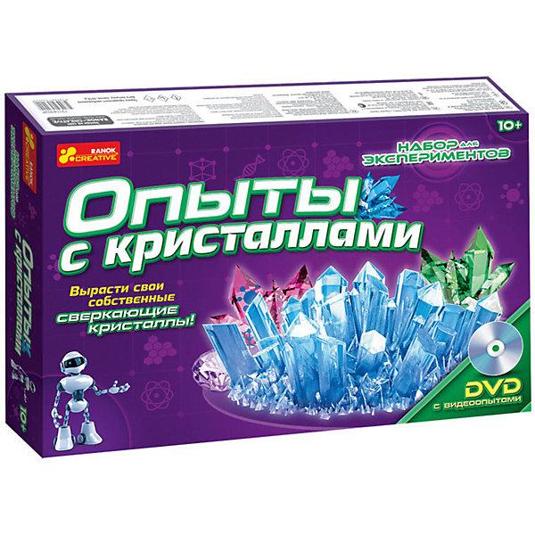 Фотография товара набор для экспериментов «Опыты с кристаллами» (5212546)
