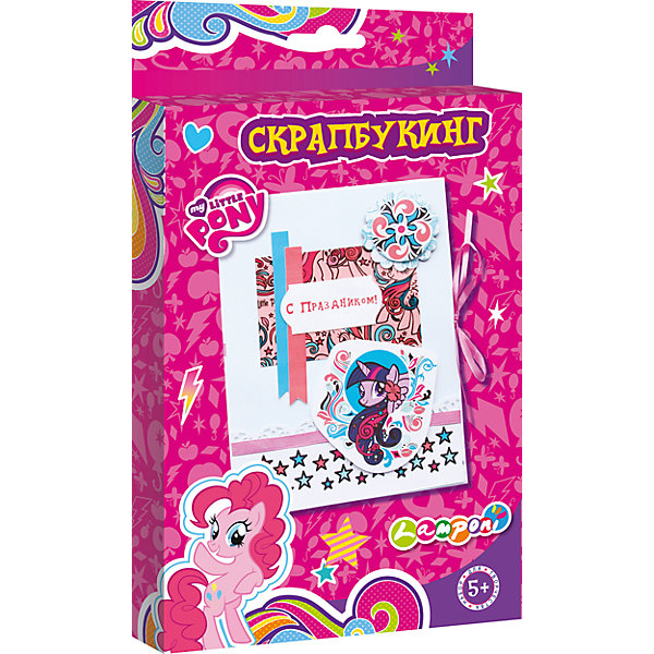 Академия групп Набор для детского творчества Скрапбукинг, My Little Pony 0 28 super mini digital red led display voltmeter dc 3 5 30v 2 wires vehicles motor voltage panel meter battery monitor