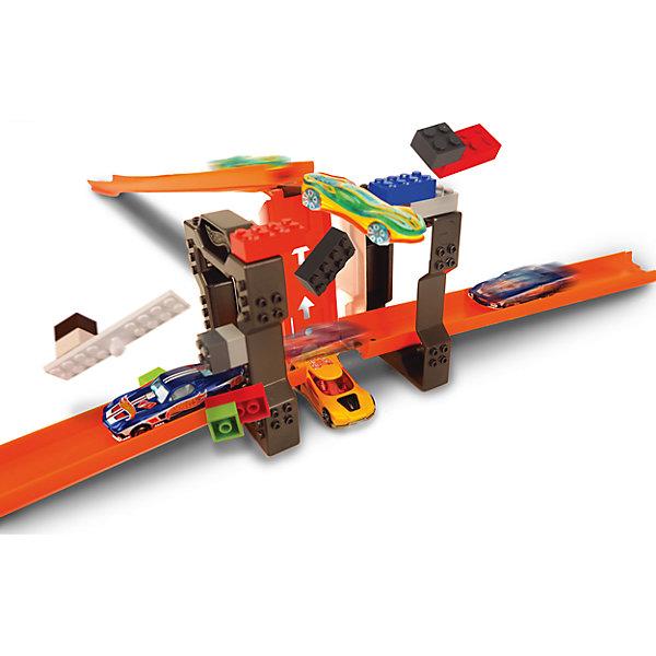 Mattel Дополнительный блок для конструктора трасс Hot Wheels, Trick Brick hot wheels track builder дополнительный блок для конструктора трасс clamp it page 9