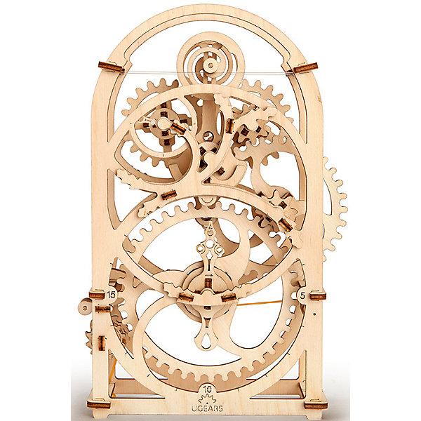 Таймер секундомер 20 мин, UGEARSДеревянные конструкторы<br>Одна из самых красивых моделей UGEARS - это таймер на 20 минут. Это механический хронометр, который можно выставить на нужное время от одной до 20 минут. Если завести механизм оповещения, то по прошествии времени раздастся звук. Таймер имеет необычный роликовый маятник и  ручку регулировки амплитуды, которая находится на задней стенке. <br>Работает от обычной канцелярской резинки.<br>Мы достаточно долго совершенствовали эту модель, чтобы каждый мог собрать себе этот красивый часовой механизм.<br>Модель для самостоятельной сборки без клея.<br><br>Дополнительная информация:<br> <br> Размер модели: 173*80*256мм<br>Размер упаковки: 37*17*3см<br>Количество деталей: 107<br>Расчетное время сборки: 3-4 часа<br><br>Таймер секундомер 20 мин, UGEARS можно купить в нашем интернет-магазине.<br>Ширина мм: 377; Глубина мм: 172; Высота мм: 32; Вес г: 629; Возраст от месяцев: 168; Возраст до месяцев: 216; Пол: Мужской; Возраст: Детский; SKU: 5226399;