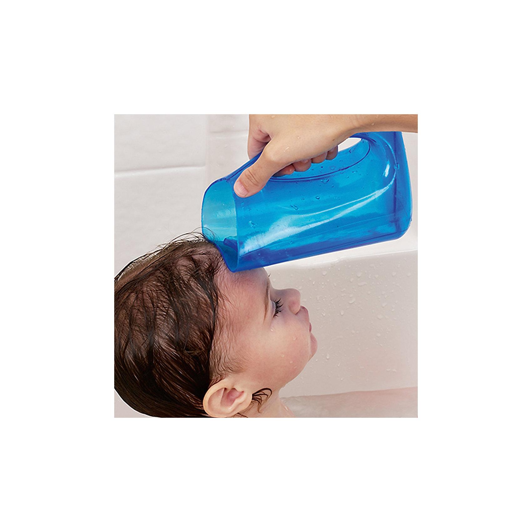 Мягкий кувшин для мытья волос, munchkin, розовый