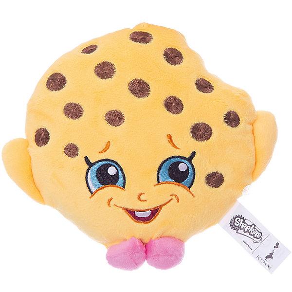 Мягкая игрушка Печенька Куки, 20см, ShopkinsShopkins<br>Характеристики:<br><br>• размер игрушки: 20 см;<br>• материал: плюш;<br>• наполнитель: синтепон;<br>• декоративные элементы: вышивка;<br>• упаковка: ПВХ-пакет.<br><br>Плюшевая коллекционная игрушка Шопкинс создана по мотивам мультсериала для детей. Улыбчивая Печенька Куки оформлена в соответствии с героиней Shopkins, личико - вышивка-аппликация, тельце мягконабивное, игрушка приятная на ощупь. В процессе игры развивается воображение, речь, тактильное восприятие.<br><br>Мягкую игрушку Печенька Куки, 20см, Shopkins можно купить в нашем магазине.<br>Ширина мм: 180; Глубина мм: 160; Высота мм: 50; Вес г: 60; Возраст от месяцев: 36; Возраст до месяцев: 2147483647; Пол: Женский; Возраст: Детский; SKU: 5247682;
