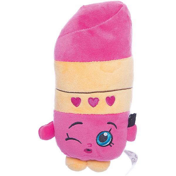 Мягкая игрушка Помадка Липпи, 20см, ShopkinsShopkins<br>Характеристики:<br><br>• размер игрушки: 20 см;<br>• материал: плюш;<br>• наполнитель: синтепон;<br>• декоративные элементы: вышивка;<br>• упаковка: ПВХ-пакет.<br><br>Плюшевая коллекционная игрушка Шопкинс создана по мотивам мультсериала для детей. Улыбчивая Помадка Липпи оформлена в соответствии с героиней Shopkins, личико - вышивка-аппликация, тельце мягконабивное, игрушка приятная на ощупь, помадка Липпи шлет воздушных поцелуй. В процессе игры развивается воображение, речь, тактильное восприятие.<br><br>Мягкую игрушку Помадка Липпи, 20см, Shopkins можно купить в нашем магазине.<br>Ширина мм: 185; Глубина мм: 90; Высота мм: 70; Вес г: 60; Возраст от месяцев: 36; Возраст до месяцев: 2147483647; Пол: Женский; Возраст: Детский; SKU: 5247683;