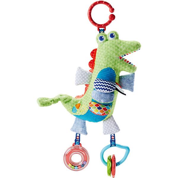 Mattel Развивающая игрушка Fisher-Price Крокодил мягкая игрушка развивающая k s kids часы сова