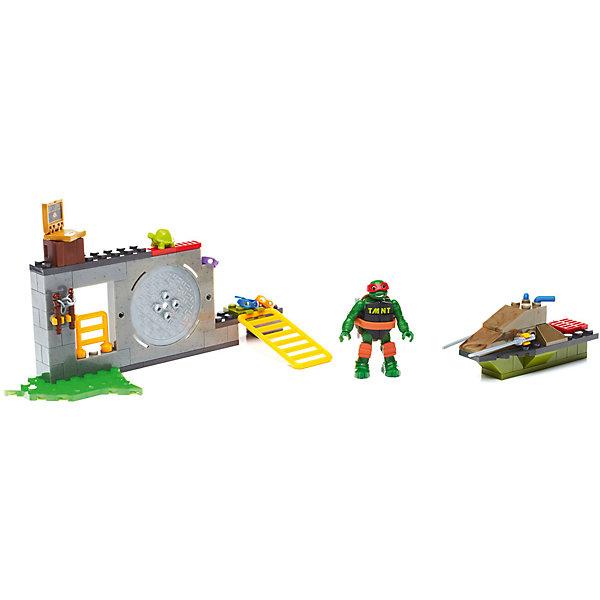 Mattel Черепашки Ниндзя: большой набор деталей, MEGA BLOKS игровой набор черепашки ниндзя функциональные мини игры разноцветный
