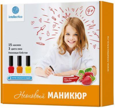 Малый набор Неоновый маникюр, артикул:5263172 - Наборы детской косметики