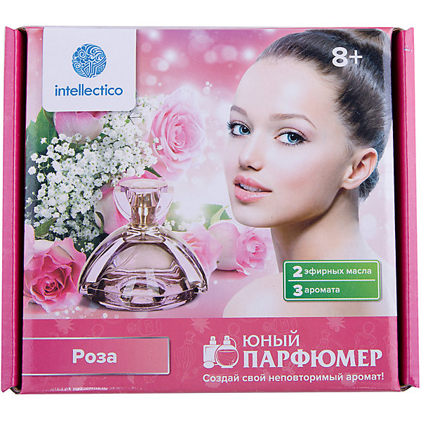 Intellectico Набор для творчества Юный парфюмер мини Роза