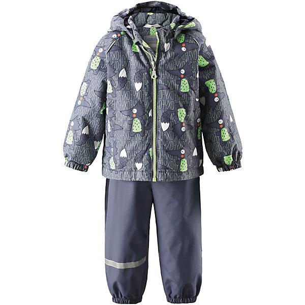 Комплект LASSIEВерхняя одежда<br>Комплект LASSIE<br>Состав:<br>100% Полиэстер, полиуретановое покрытие<br> Демисезонный комплект для самых маленьких.<br> Водоотталкивающий, ветронепроницаемый и «дышащий» материал.<br> Гладкая подкладка из полиэстра.<br> Легкая степень утепления.<br> Безопасный, съемный капюшон.<br> Эластичные манжеты.<br> Регулируемый обхват талии.<br> Эластичные штанины.<br> Съемные штрипки.<br> Два прорезных кармана.<br> Регулируемые эластичные подтяжки.<br>Ширина мм: 356; Глубина мм: 10; Высота мм: 245; Вес г: 519; Цвет: серый; Возраст от месяцев: 6; Возраст до месяцев: 9; Пол: Унисекс; Возраст: Детский; Размер: 74,86,80,92,98; SKU: 5264904;