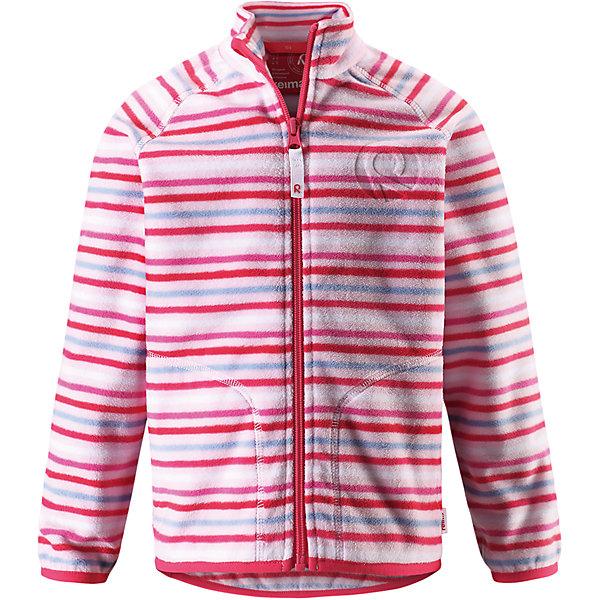 Куртка флисовая Inrun для девочки ReimaОдежда<br>Характеристики товара:<br><br>• цвет: розовый<br>• состав: 100% полиэстер<br>• поларфлис<br>• аппликация<br>• молния<br>• защита подбородка<br>• приятная на ощупь ткань<br>• карманы<br>• может пристегиваться к верхней одежде Reima® кнопками Play Layers®<br>• эластичные манжеты и подол<br>• удлиненная сзади<br>• комфортная посадка<br>• страна производства: Китай<br>• страна бренда: Финляндия<br>• коллекция: весна-лето 2017<br><br>Одежда для детей может быть модной и комфортной одновременно! Удобная курточка поможет обеспечить ребенку комфорт и тепло. Изделие сшито из поларфлис - мягкого и теплого материала, приятного на ощупь. Модель стильно смотрится, отлично сочетается с различным низом. Стильный дизайн разрабатывался специально для детей.<br><br>Одежда и обувь от финского бренда Reima пользуется популярностью во многих странах. Эти изделия стильные, качественные и удобные. Для производства продукции используются только безопасные, проверенные материалы и фурнитура. Порадуйте ребенка модными и красивыми вещами от Reima! <br><br>Куртку флисовую для мальчика от финского бренда Reima (Рейма) можно купить в нашем интернет-магазине.<br>Ширина мм: 356; Глубина мм: 10; Высота мм: 245; Вес г: 519; Цвет: розовый; Возраст от месяцев: 36; Возраст до месяцев: 48; Пол: Женский; Возраст: Детский; Размер: 104,92,98,110,116,122,128,134,140; SKU: 5268146;