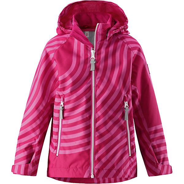 Куртка Seili для девочки Reimatec® ReimaВерхняя одежда<br>Характеристики товара:<br><br>• цвет: розовый<br>• демисезонная<br>• состав: 100% полиэстер, полиуретановое покрытие<br>• температурный режим: от +10°до +20°С<br>• водонепроницаемость: 8000 мм<br>• воздухопроницаемость: 5000 мм<br>• износостойкость: 30000 циклов (тест Мартиндейла)<br>• без утеплителя<br>• основные швы проклеены, водонепроницаемые<br>• водо- и ветронепроницаемый «дышащий», грязеотталкивающий материал<br>• подкладка: mesh-сетка<br>• регулируемые манжеты на застёжке-липучке<br>• регулируемый подол<br>• безопасный съемный капюшон<br>• два кармана на молнии<br>• светоотражающие детали<br>• комфортная посадка<br>• страна производства: Китай<br>• страна бренда: Финляндия<br>• коллекция: весна-лето 2017<br><br>Верхняя одежда для детей может быть модной и комфортной одновременно! Демисезонная куртка поможет обеспечить ребенку комфорт и тепло. Она отлично смотрится с различной одеждой и обувью. Изделие удобно сидит и модно выглядит. Материал - прочный, хорошо подходящий для межсезонья, водо- и ветронепроницаемый, «дышащий». Стильный дизайн разрабатывался специально для детей.<br><br>Одежда и обувь от финского бренда Reima пользуется популярностью во многих странах. Эти изделия стильные, качественные и удобные. Для производства продукции используются только безопасные, проверенные материалы и фурнитура. Порадуйте ребенка модными и красивыми вещами от Reima! <br><br>Куртку для мальчика Reimatec® от финского бренда Reima (Рейма) можно купить в нашем интернет-магазине.<br>Ширина мм: 356; Глубина мм: 10; Высота мм: 245; Вес г: 519; Цвет: розовый; Возраст от месяцев: 72; Возраст до месяцев: 84; Пол: Женский; Возраст: Детский; Размер: 122,98,92,140,134,128,116,110,104; SKU: 5268546;