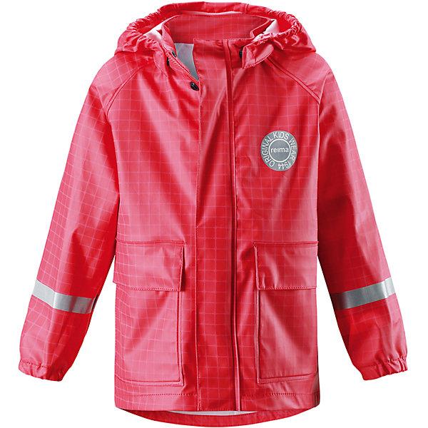 Купить Плащ-дождевик Vihma для девочки Reima, Китай, красный, Женский