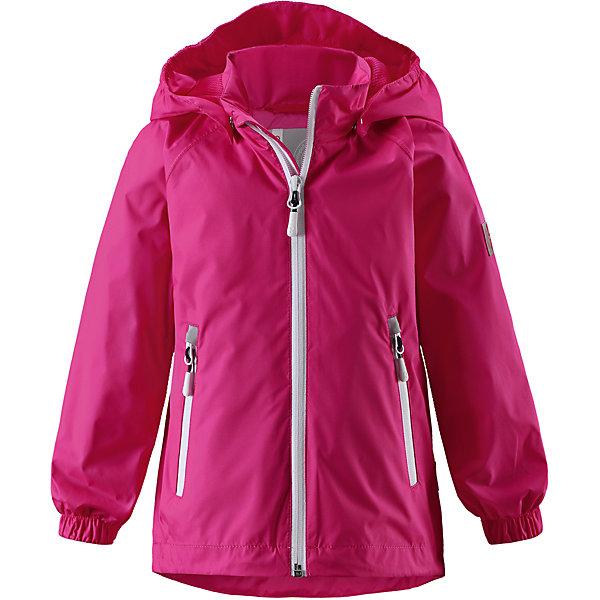 Куртка Aragosta для девочки Reimatec® ReimaВерхняя одежда<br>Характеристики товара:<br><br>• цвет: розовый<br>• состав: 100% полиэстер, полиуретановое покрытие<br>• температурный режим: от +5° до +15°С<br>• водонепроницаемость: 5000 мм<br>• воздухопроницаемость: 3000 мм<br>• износостойкость: 5000 циклов (тест Мартиндейла)<br>• без утеплителя<br>• все швы проклеены, водонепроницаемы<br>• водонепроницаемый, ветронепроницаемый и дышащий материал<br>• подкладка из mesh-сетки<br>• эластичные манжеты<br>• безопасный съёмный капюшон<br>• решулируемый подол<br>• карманы на молнии<br>• усовершенствованная молния - больше не застрянет!<br>• комфортная посадка<br>• страна производства: Китай<br>• страна бренда: Финляндия<br>• коллекция: весна-лето 2017<br><br>В межсезонье верхняя одежда для детей может быть модной и комфортной одновременно! Демисезонная куртка поможет обеспечить ребенку комфорт и тепло. Она отлично смотрится с различной одеждой и обувью. Изделие удобно сидит и модно выглядит. Материал - прочный, хорошо подходящий для межсезонья, водо- и ветронепроницаемый, «дышащий». Стильный дизайн разрабатывался специально для детей.<br><br>Одежда и обувь от финского бренда Reima пользуется популярностью во многих странах. Эти изделия стильные, качественные и удобные. Для производства продукции используются только безопасные, проверенные материалы и фурнитура. Порадуйте ребенка модными и красивыми вещами от Reima! <br><br>Куртку Reimatec® от финского бренда Reima (Рейма) можно купить в нашем интернет-магазине.<br>Ширина мм: 356; Глубина мм: 10; Высота мм: 245; Вес г: 519; Цвет: розовый; Возраст от месяцев: 48; Возраст до месяцев: 60; Пол: Женский; Возраст: Детский; Размер: 110,134,128,122,116,140,104,92,98; SKU: 5270573;