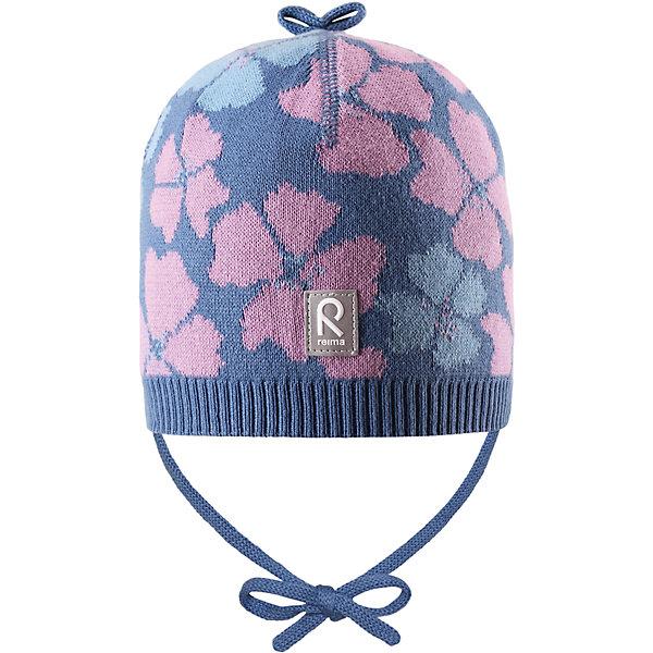 Шапка Brisky для девочки ReimaШапки и шарфы<br>Характеристики товара:<br><br>• цвет: синий<br>• состав: 100% хлопок<br>• облегчённая модель без подкладки<br>• температурный режим: от +10С<br>• эластичный хлопковый трикотаж<br>• изделие сертифицированно по стандарту Oeko-Tex на продукцию класса 1 - одежда для новорождённых<br>• завязки во всех размерах<br>• эмблема Reima сзади<br>• сплошная жаккардовая узорная вязка<br>• декоративная отделка сверху<br>• страна бренда: Финляндия<br>• страна производства: Китай<br><br>Детский головной убор может быть модным и удобным одновременно! Стильная шапка поможет обеспечить ребенку комфорт и дополнить наряд.Шапка удобно сидит и аккуратно выглядит. Проста в уходе, долго служит. Стильный дизайн разрабатывался специально для детей. Отличная защита от дождя и ветра!<br><br>Уход:<br><br>• стирать по отдельности, вывернув наизнанку<br>• придать первоначальную форму вo влажном виде<br>• возможна усадка 5 %.<br><br>Шапку для девочки от финского бренда Reima (Рейма) можно купить в нашем интернет-магазине.<br>Ширина мм: 89; Глубина мм: 117; Высота мм: 44; Вес г: 155; Цвет: синий; Возраст от месяцев: 9; Возраст до месяцев: 18; Пол: Женский; Возраст: Детский; Размер: 46,48,50,52; SKU: 5270951;
