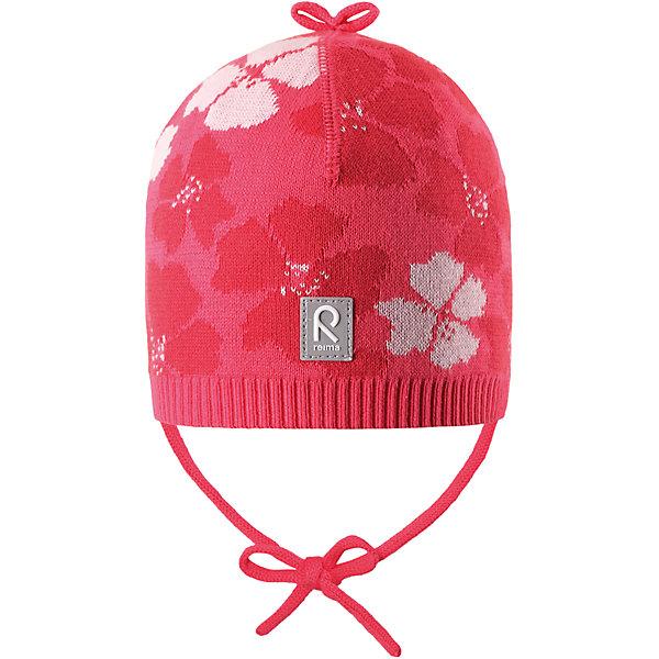 Шапка Brisky для девочки ReimaШапки и шарфы<br>Характеристики товара:<br><br>• цвет: розовый<br>• состав: 100% хлопок<br>• облегчённая модель без подкладки<br>• температурный режим: от +10С<br>• эластичный хлопковый трикотаж<br>• изделие сертифицированно по стандарту Oeko-Tex на продукцию класса 1 - одежда для новорождённых<br>• завязки во всех размерах<br>• эмблема Reima сзади<br>• сплошная жаккардовая узорная вязка<br>• декоративная отделка сверху<br>• страна бренда: Финляндия<br>• страна производства: Китай<br><br>Детский головной убор может быть модным и удобным одновременно! Стильная шапка поможет обеспечить ребенку комфорт и дополнить наряд.Шапка удобно сидит и аккуратно выглядит. Проста в уходе, долго служит. Стильный дизайн разрабатывался специально для детей. Отличная защита от дождя и ветра!<br><br>Уход:<br><br>• стирать по отдельности, вывернув наизнанку<br>• придать первоначальную форму вo влажном виде<br>• возможна усадка 5 %.<br><br>Шапку для девочки от финского бренда Reima (Рейма) можно купить в нашем интернет-магазине.<br>Ширина мм: 89; Глубина мм: 117; Высота мм: 44; Вес г: 155; Цвет: розовый; Возраст от месяцев: 9; Возраст до месяцев: 18; Пол: Женский; Возраст: Детский; Размер: 50,46,48,52; SKU: 5270956;