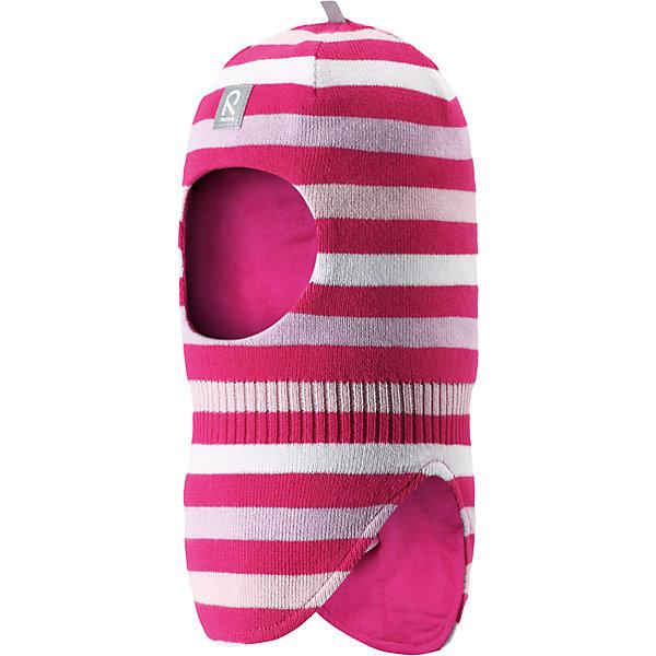 Шапка-шлем Ades для девочки ReimaШапки и шарфы<br>Характеристики товара:<br><br>• цвет: белый/розовый<br>• состав: 100% хлопок<br>• сплошная подкладка из хлопкового трикотажа<br>• температурный режим: от -5С до +10С<br>• эластичный хлопковый трикотаж<br>• изделие сертифицированно по стандарту Oeko-Tex на продукцию класса 1 - одежда для новорождённых<br>• эмблема Reima спереди<br>• светоотражающие детали<br>• страна бренда: Финляндия<br>• страна производства: Китай<br><br>Детский головной убор может быть модным и удобным одновременно. Стильная шапка-шлем поможет обеспечить ребенку комфорт и дополнить наряд. Шапка удобно сидит и аккуратно выглядит. Проста в уходе, долго служит. Стильный дизайн разрабатывался специально для детей. Отличная защита от дождя и ветра!<br><br>Уход:<br><br>• стирать по отдельности, вывернув наизнанку<br>• придать первоначальную форму вo влажном виде<br>• возможна усадка 5 %.<br><br>Шапку-шлем от финского бренда Reima (Рейма) можно купить в нашем интернет-магазине.<br>Ширина мм: 89; Глубина мм: 117; Высота мм: 44; Вес г: 155; Цвет: розовый; Возраст от месяцев: 6; Возраст до месяцев: 9; Пол: Женский; Возраст: Детский; Размер: 46,52,50,48; SKU: 5271075;
