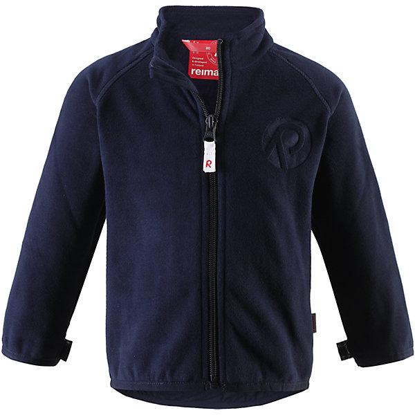 Куртка флисовая Nuoto ReimaОдежда<br>Характеристики товара:<br><br>• цвет: тёмно-синий<br>• состав: 100% полиэстер, флис<br>• тёплый, лёгкий и быстросохнущий полярный флис<br>• пристёгивается к верхней одежде Reima с помощью системы кнопок Play Layers<br>• эластичные манжеты и подол<br>• молния во всю длину со вставкой для защиты подбородка<br>• модель с горячим тиснением<br>• комфортная посадка<br>• страна производства: Китай<br>• страна бренда: Финляндия<br>• коллекция: весна-лето 2017<br><br>Одежда для детей может быть модной и комфортной одновременно! Удобная курточка поможет обеспечить ребенку комфорт и тепло. Изделие сшито из флиса - мягкого и теплого материала, приятного на ощупь. Модель стильно смотрится, отлично сочетается с различным низом. Стильный дизайн разрабатывался специально для детей.<br><br>Одежда и обувь от финского бренда Reima пользуется популярностью во многих странах. Эти изделия стильные, качественные и удобные. Для производства продукции используются только безопасные, проверенные материалы и фурнитура. Порадуйте ребенка модными и красивыми вещами от Reima! <br><br>Куртку флисовую для мальчика от финского бренда Reima (Рейма) можно купить в нашем интернет-магазине.<br>Ширина мм: 356; Глубина мм: 10; Высота мм: 245; Вес г: 519; Цвет: синий; Возраст от месяцев: 18; Возраст до месяцев: 24; Пол: Мужской; Возраст: Детский; Размер: 92,74,80,86,98; SKU: 5271271;