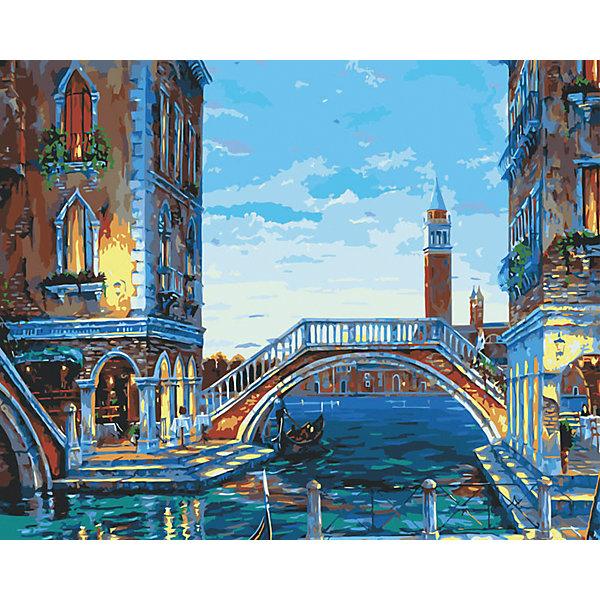 Белоснежка Живопись на холсте Каналы Венеции 40*50 см набор для творчества белоснежка живопись на холсте 40 50 разноцветные ромашки