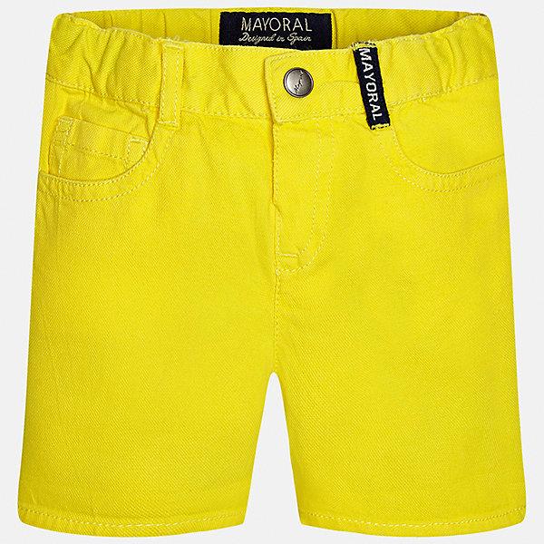 Бриджи для мальчика MayoralШорты, бриджи, капри<br>Характеристики товара:<br><br>• цвет: жёлтый<br>• состав: 100% хлопок<br>• шлевки<br>• карманы<br>• пояс с регулировкой объема<br>• нашивка с логотипом<br>• страна бренда: Испания<br><br>Модные бриджи для мальчика смогут стать базовой вещью в гардеробе ребенка. Они отлично сочетаются с майками, футболками, рубашками и т.д. Универсальный крой и цвет позволяет подобрать к вещи верх разных расцветок. Практичное и стильное изделие! В составе материала - только натуральный хлопок, гипоаллергенный, приятный на ощупь, дышащий.<br><br>Одежда, обувь и аксессуары от испанского бренда Mayoral полюбились детям и взрослым по всему миру. Модели этой марки - стильные и удобные. Для их производства используются только безопасные, качественные материалы и фурнитура. Порадуйте ребенка модными и красивыми вещами от Mayoral! <br><br>Бриджи для мальчика от испанского бренда Mayoral (Майорал) можно купить в нашем интернет-магазине.<br>Ширина мм: 191; Глубина мм: 10; Высота мм: 175; Вес г: 273; Цвет: желтый; Возраст от месяцев: 6; Возраст до месяцев: 9; Пол: Мужской; Возраст: Детский; Размер: 74,92,80,86; SKU: 5279490;