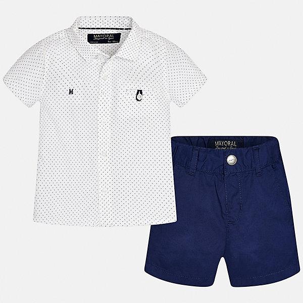 Комплект: шорты и рубашка для мальчика Mayoral, Китай (КНР)