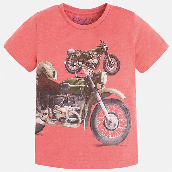Купить футболка для мальчика Mayoral (5280065) в Москве, в Спб и в России