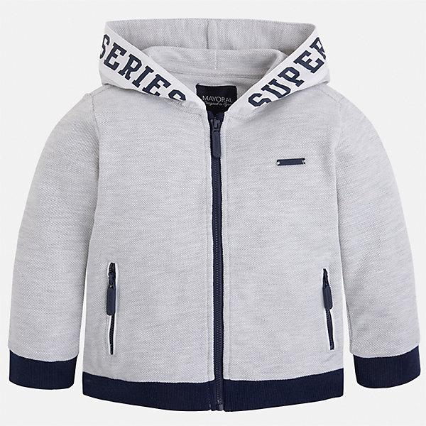 Толстовка для мальчика Mayoral Куртка, Китай (КНР)