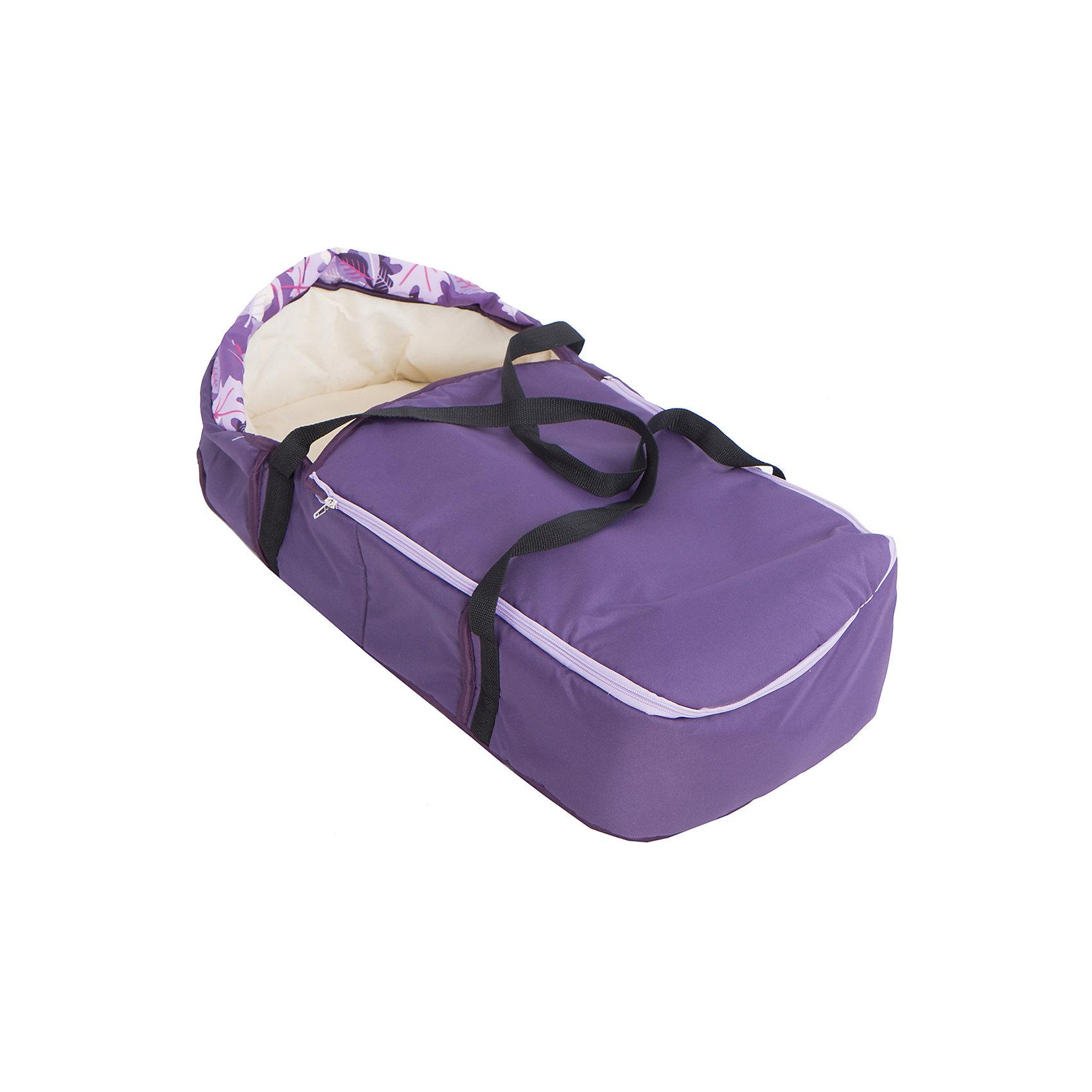 Коляска-трансформер Sport, Marimex, фиолетовый/сиреневый с принтом